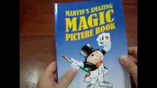 Marvin's Amazing Magic Picture book. Thumbnail