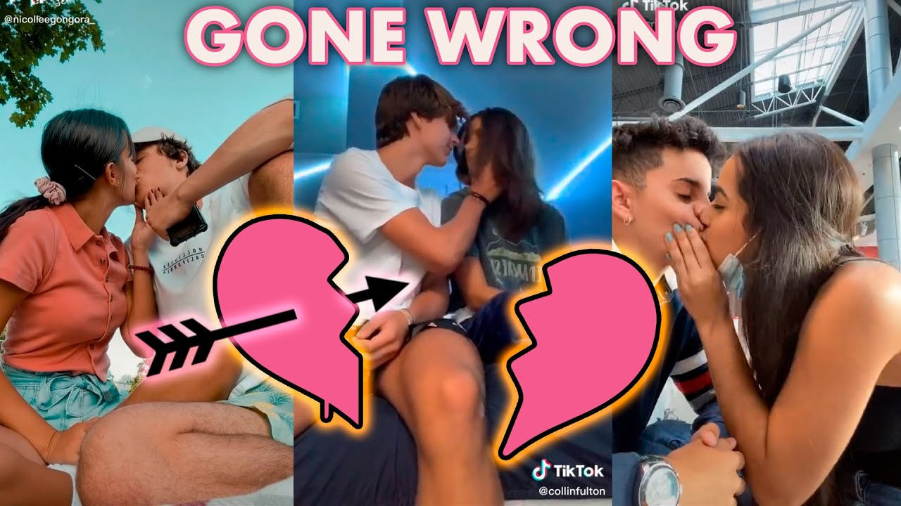 Kissing Best Friend Challenge Gone Wrong - Today I tried to kiss my best friend TikTok Videos 2020