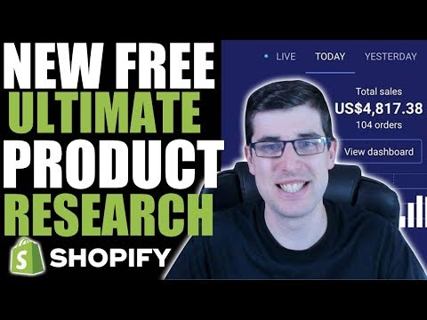 [REVEALED] THE BEST FREE PRODUCT RESEARCH STRATEGY 2019 | SHOPIFY DROPSHIPPING RESEARCH thumbnail