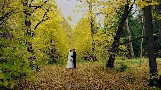 Свадебный клип Андрея и Юлии. Свадьба в октябре.Отражение