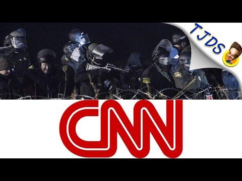 CNN Lies About Dakota Access Pipeline Protests