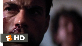 Gambar cover Sudden Death (1995) - Death by Chicken Bone Scene (3/10) | Movieclips