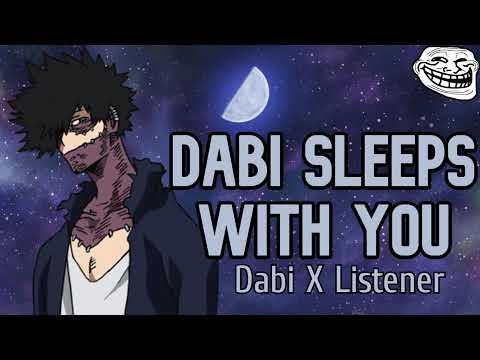 Dabi Sleeps With You (Troll)   Dabi X Listener   ASMR   Sleep Aid   My Hero Academia Audio Roleplay