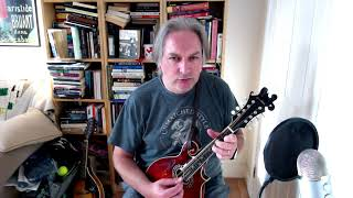 The Maid Behind The Bar (reel) on mandolin