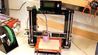geeetech prusa i3 pro b 3d printer diy kit assembly time laps photo