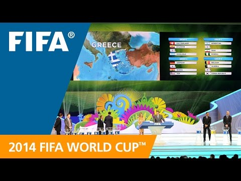 Inside The 2014 FIFA World Cup Final Draw