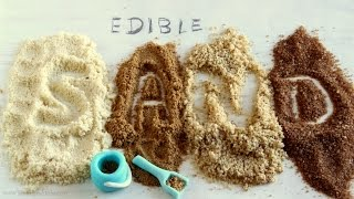 Edible Sand For Cake Decorating