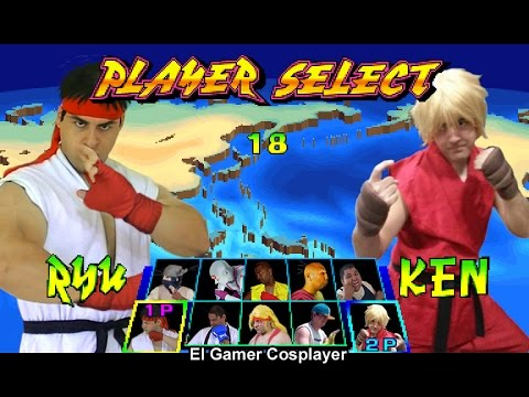 Street Fighter III - Cosplay Generation