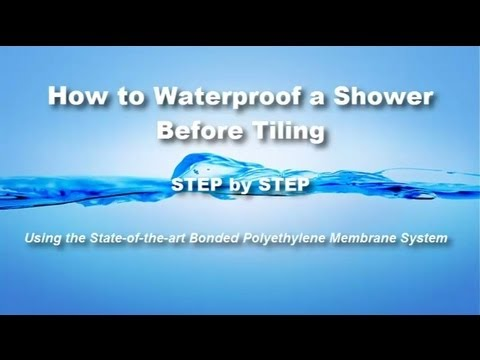 How To Waterproof A Shower Before Tiling   Most Preferred System By  Professional Tile Contractors
