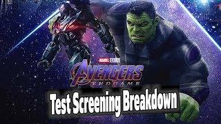 Avengers Endgame 3 Hour Runtime CONFIRMED! Test Screening Break Down!