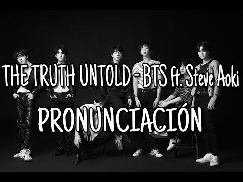 The Truth Untold - BTS ft. Steve Aoki [Pronunciación] [Fácil]