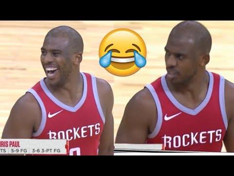 NEW FUNNY NBA MOMENTS 2018 p2