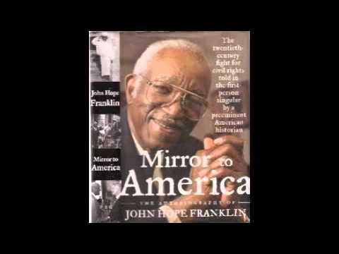 mirror to america franklin john hope