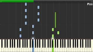 Ласковый май - Белые розы (Piano - Sheets and MIDI)