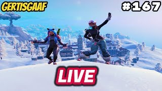 [GIG CLAN] CHRISTMAS SKINS IN THE SHOP! #167 🔴 livestream Fortnite Battle Royale NL 🔴