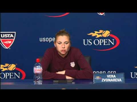 2010 US Open Press Conferences: Vera Zvonareva (Finals)