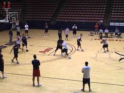 Richmond Spiders practice # 2
