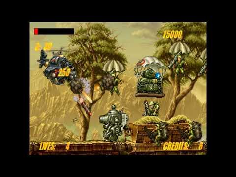 Metal Slug Academy Playthrough Part 1