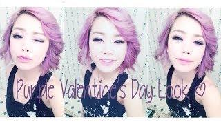 Purple Valentine's Day Look