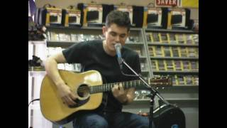 John Mayer-Pop/No Such Thing (uncut Tower Records 6-30-01)