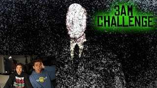 DO NOT PLAY SLENDER MAN GAME AT 3 AM! (HE VISITED US!)