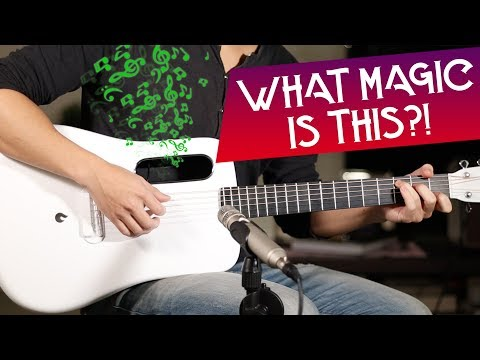 ACOUSTIC GUITAR WITH BUILT-IN FX - REVERB & DELAY 🎸LAVA ME 2 GUITAR REVIEW