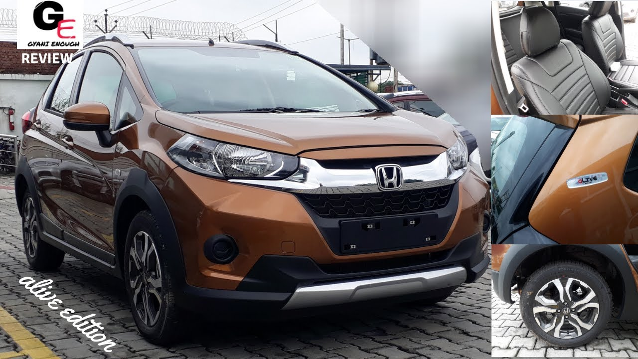 2018 Honda Wrv Alive Edition Most Detailed Review Features