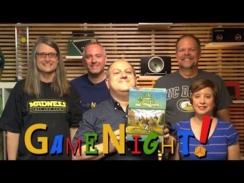 Isle of Skye: From Chieftain to King - GameNight! Se4 Ep8 2016 Kennerspiel des Jahres Winner!
