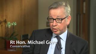 The General Election 2017 – Interview with Rt Hon Michael Gove - Conservatives