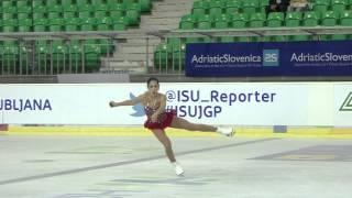 ISU 2014 Grand Prix- Ljubljana Ladies Free Skate Leah KEISER USA