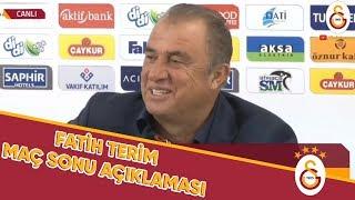 Teknik Direktörümüz Fatih Terim'den Maç Sonu Açıklamaları | #RİZvGS