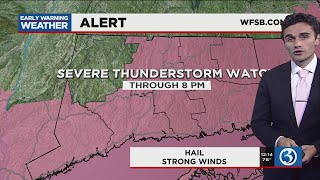 FORECAST: Severe thunderstorm watch issued for parts of the state