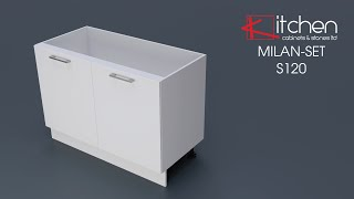[MILAN-SET] Assembly Video for 1200mm Base Cabinet