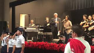 HEB Feast Of Sharing ROTC National Anthem