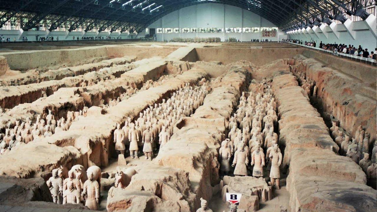 اكبر مقبرة جنود تحت الارض بالعالم! Terracotta Warriors