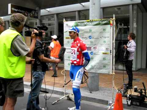 Post Tour Media Interview with Joe Cooper (Tour of Wellington KOM winner)