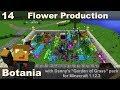 Botania E14 - Jaded Amaranthus - Automated Flower Production
