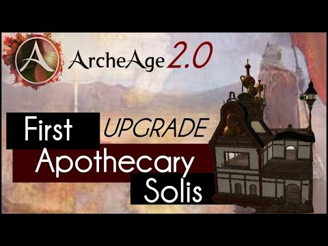 Archeage 2.0 - House Upgrade (Apothecary)