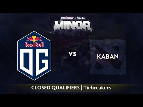 Kaban vs OG Dota2 - StarLadder ImbaTV Minor - BO1