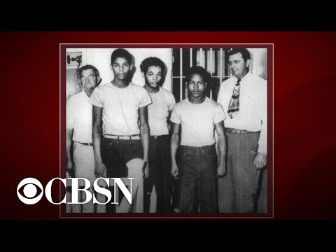 Four Florida men pardoned for racially-charged 1949 rape conviction
