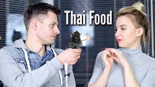 Пробуем Кузнечиков и Червяков! Еда из Тайланда!