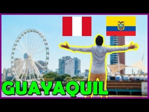 Peruano en Guayaquil, Isla Santay, Malecón e Iguanas: Ecuador | Peruvian Life