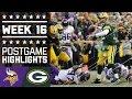 Vikings vs. Packers | NFL Week 16 Game Highlights