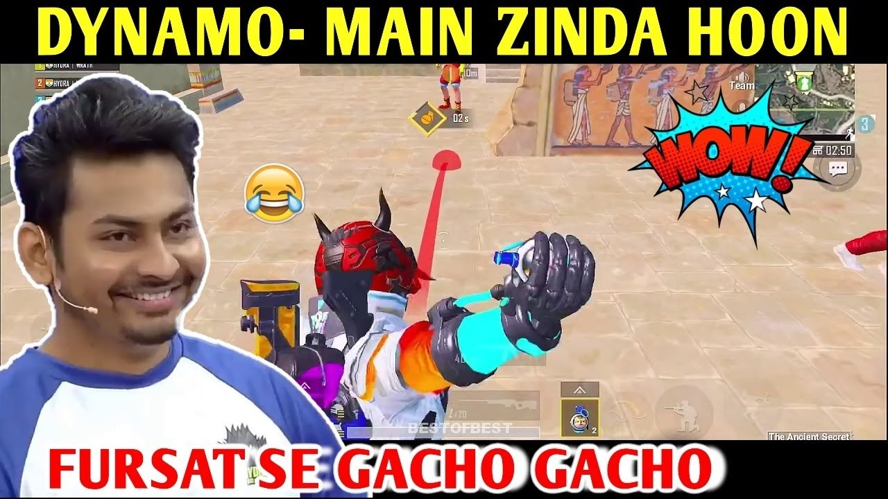 DYNAMO - MAIN ZINDA HOON ANCIENT SECRET MODE | PUBG MOBILE | BEST OF BEST