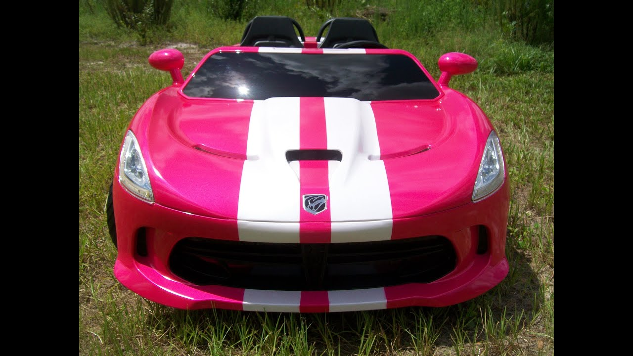 Modified Power Wheels Custom Bult Dodge Viper Furious