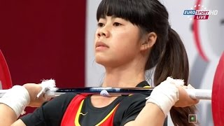 2013 World Weightlifting Championships, Women 48 kg \ Тяжелая Атлетика. Чемпионат Мира