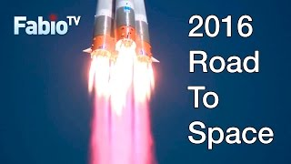 2016 Road to Space - Launch compilation
