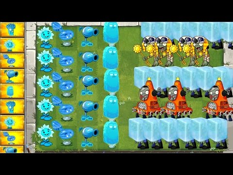Plants vs. Zombies 2 Freezer Plants Defence and Attack Gameplay