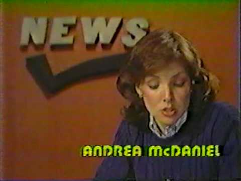 WFTS TV News, Andrea McDaniel (May 1983)