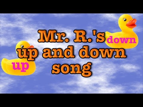 Up and Down - children's sing-along